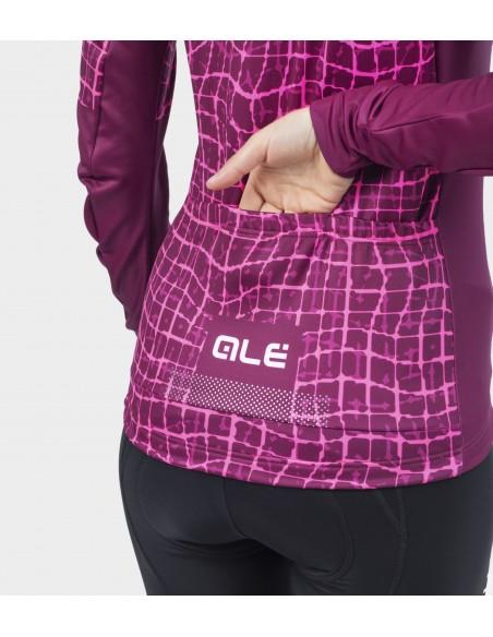 Bluza rowerowa damska Alé Cycling Solid Wall