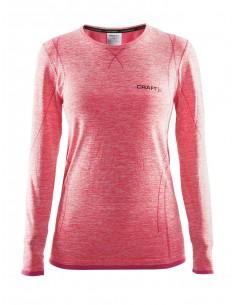 Koszulka z długim rękawem damska Craft Active Comfort, różowa