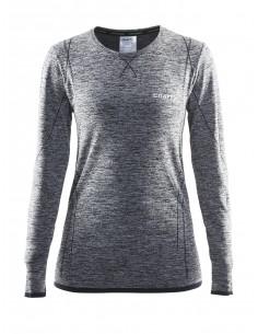 Koszulka z długim rękawem damska Craft Active Comfort, szara