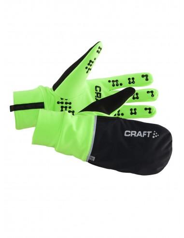 Rękawice hybrydowe Craft Hybrid Wheather Glove, zielone