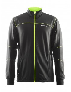 Kurtka narciarska męska Craft Touring Jacket czarno-żółta