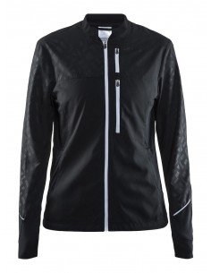 Kurtka do biegania damska Craft Breakaway Jacket, czarna