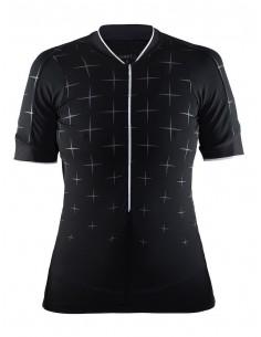 Koszulka rowerowa damska Belle Glow Jersey, czarna