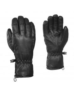 Rękawice pięciopalczaste damskie Kombi La Beatrice, czarne