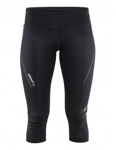 Spodnie damskie 3/4 Craft Essential Capri, czarne