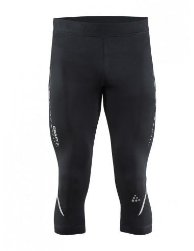 Spodnie męskie 3/4 Craft Essential Knickers, czarne