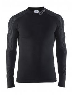 Koszulka termoaktywna męska Craft Warm Intensity CN LS, czarna