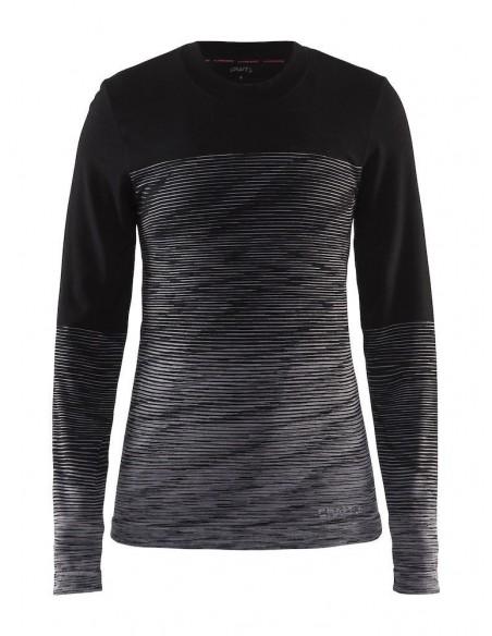 Craft Wool Comfort 2.0 CN LS - 1905341-999975 - koszulka damska