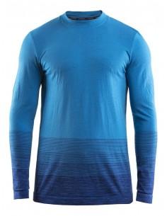 Koszulka termoaktywna męska Craft Wool Comfort 2.0 CN LS, niebieska