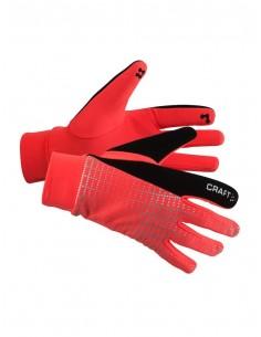 Rękawiczki do biegania Craft Brilliant 2.0 Thermal Glove, różowe