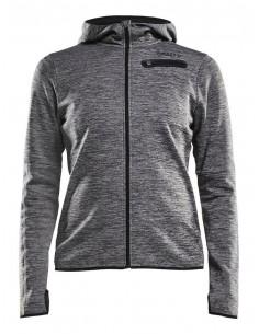 Bluza damska Craft Eaze Jersey Hood Jacket, szara