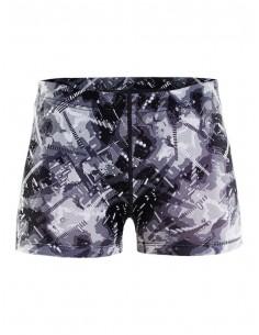 Spodenki damskie Craft Eaze Hotpant Tights, czarno-białe