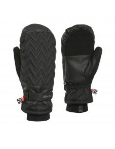 Rękawice dwupalczaste damskie Kombi La Chevron, czarne