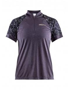 Koszulka rowerowa damska Craft Pulse Jersey, fioletowa