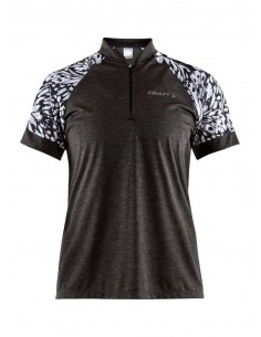 Koszulka rowerowa damska Craft Pulse Jersey, czarna