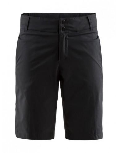 Spodenki rowerowe damskie Craft Ride Shorts, czarne