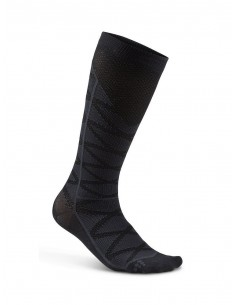 Skarpety kompresyjne Craft Compression Pattern Sock, czarne