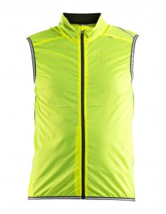 Kamizelka rowerowa męska Craft Lithe Vest żółta