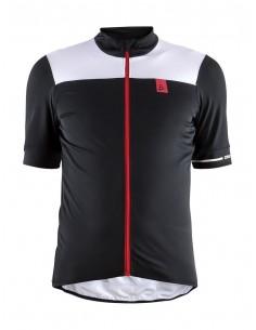 Koszulka rowerowa męska Craft Point Jersey czarna