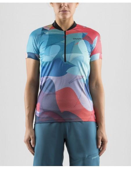 Craft Velo Art Jersey 1906147 - 610702 Koszulka rowerowa damska
