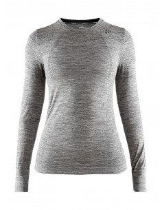 Koszulka termoaktywna damska Craft Fuseknit Comfort RN LS, szara