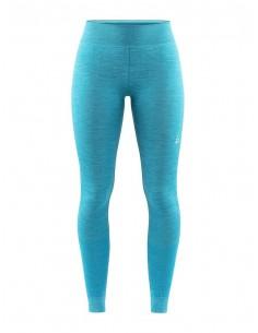 Legginsy termoaktywne damskie Craft Fuseknit Comfort Pants - Morskie