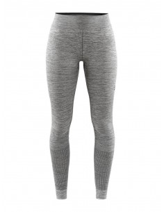 Legginsy termoaktywne damskie Craft Fuseknit Comfort Pants, szare