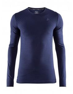 Koszulka termoaktywna Craft Fuseknit Comfort RN LS, granatowa