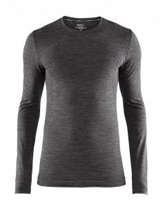 Koszulka termoaktywna męska Craft Fuseknit Comfort RN LS, czarna