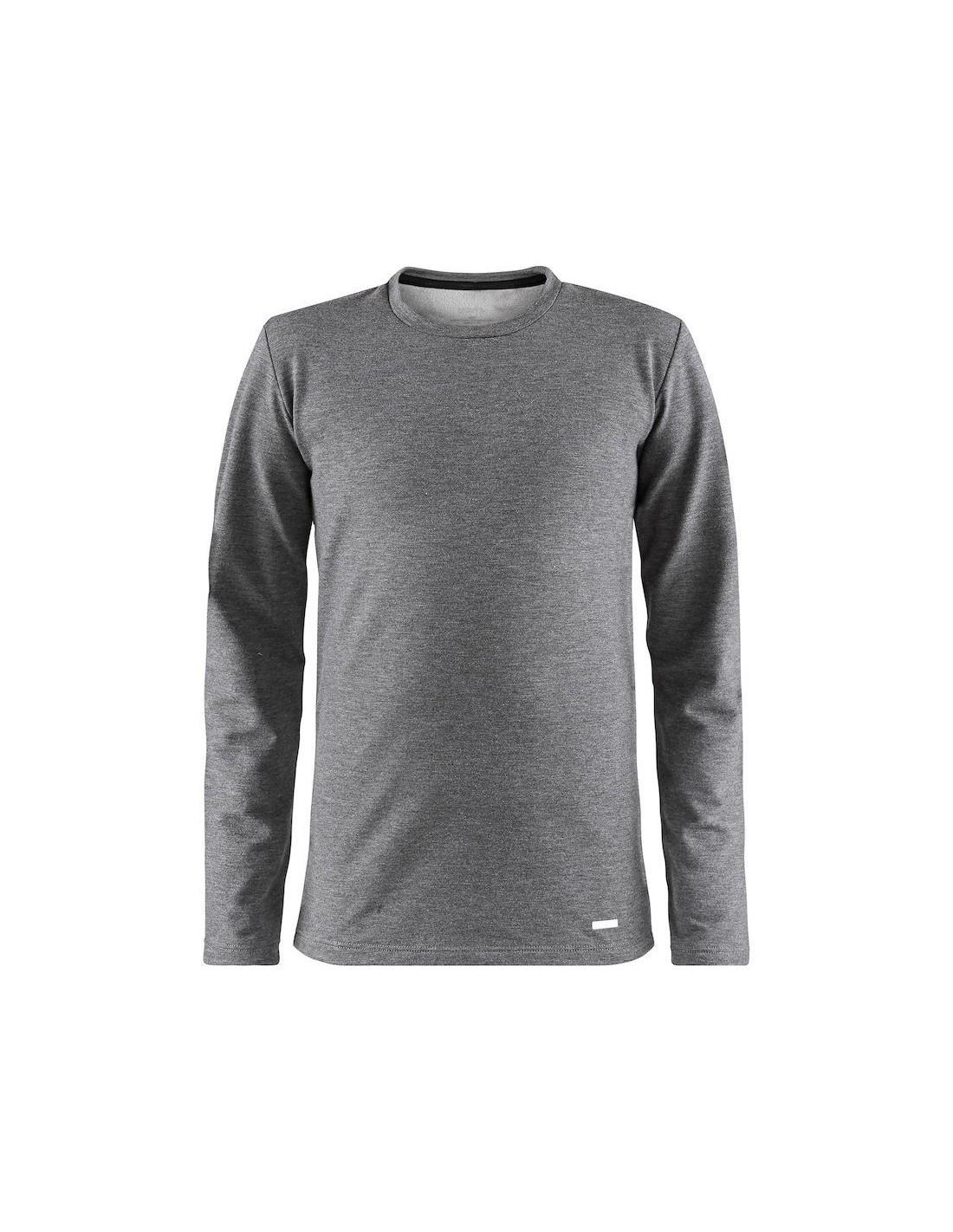 e45bb1094b9796 Koszulka termoaktywna dziecięca Craft Essential Warm RN LS, szara ...