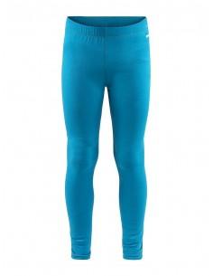 Spodnie termoaktywne dziecięce Craft Essential Warm Pants, niebieskie