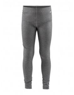 Spodnie termoaktywne dziecięce Craft Essential Warm Pants, szare