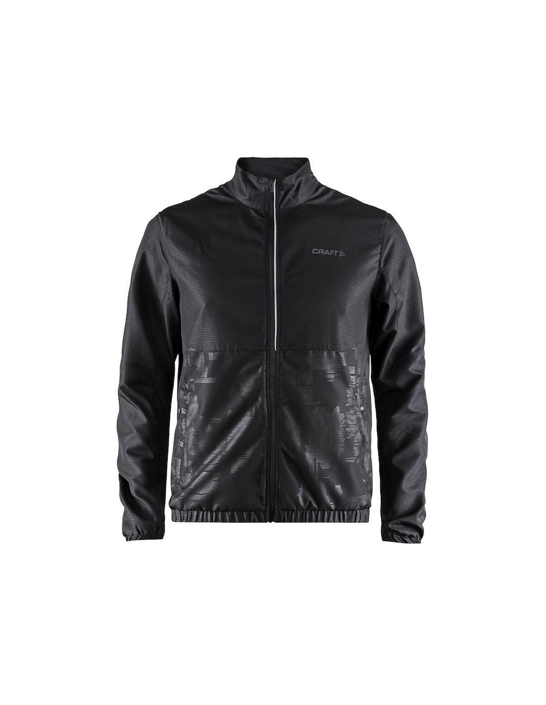 f472307013e9b Kurtka sportowa męska Craft Eaze Jacket czarna - STSklep
