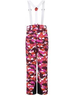 Spodnie narciarskie damskie Tenson Zola Camo, różowe