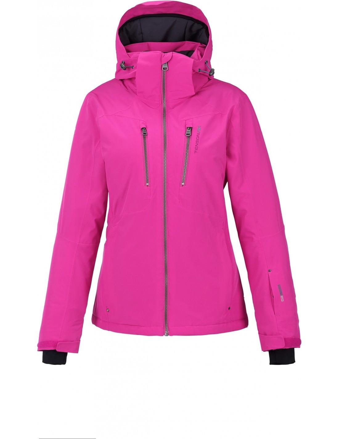 c82e32880771a Kurtka narciarska damska Tenson Yoko, różowa - STSklep