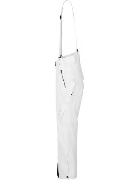 Tenson Zola Białe Spodnie Narciarskie Damskie