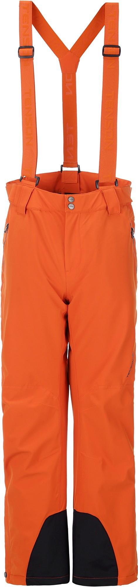 Spodnie narciarskie damskie Tenson Zola, pomarañczowe