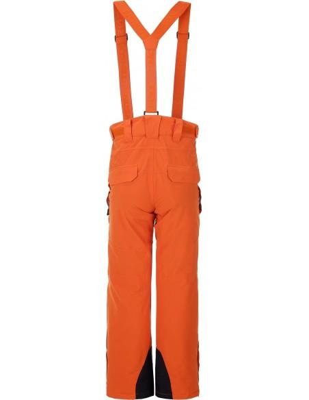 Tenson Zola Pomarańczowe Spodnie Narciarskie Damskie