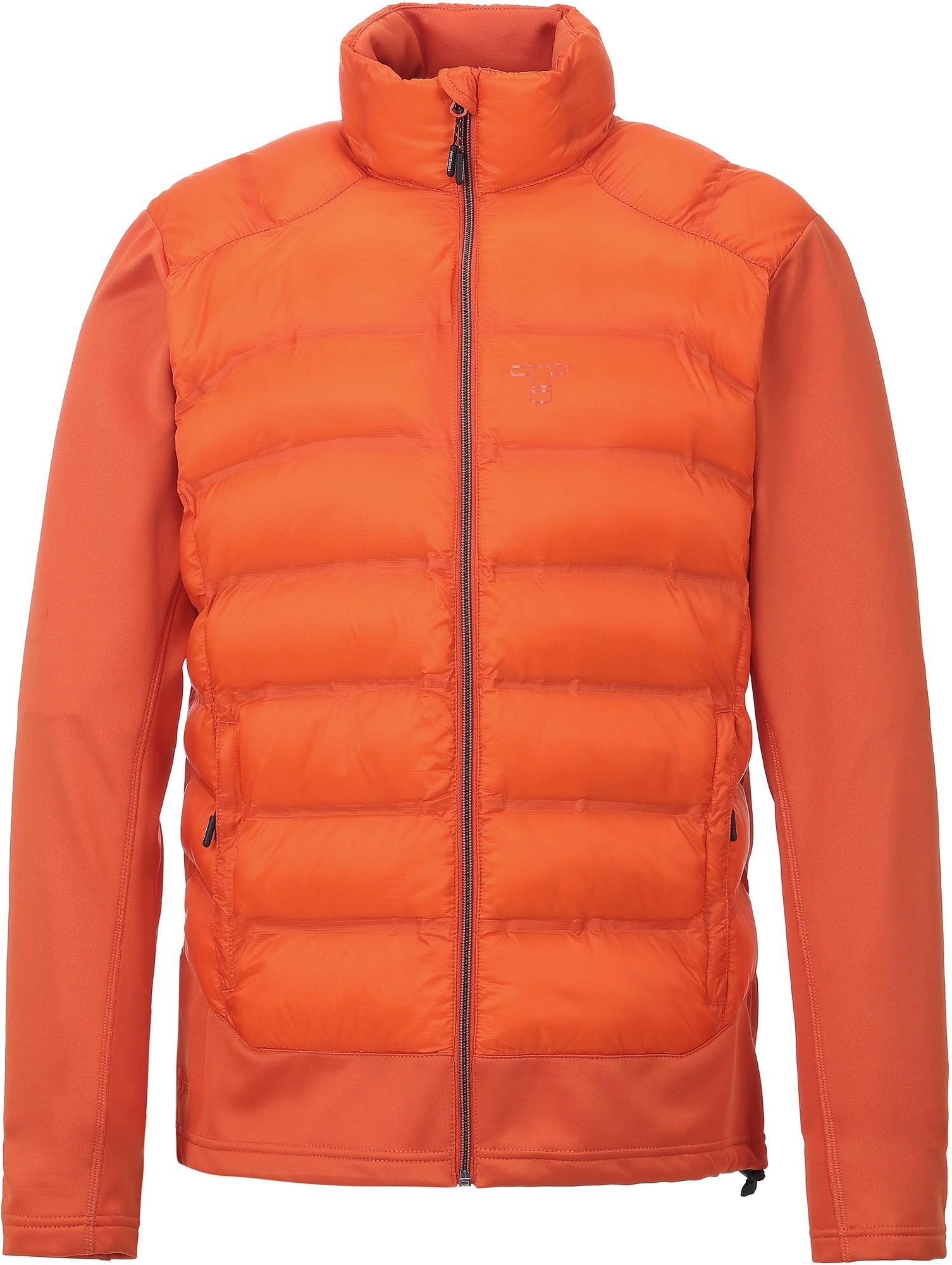 Bluza hybrydowa męska Tenson Zaniar, pomarańczowa Orange S