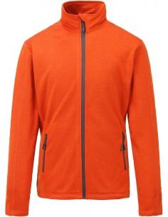 Bluza męska Tenson Lino Fleece, pomarańczowa