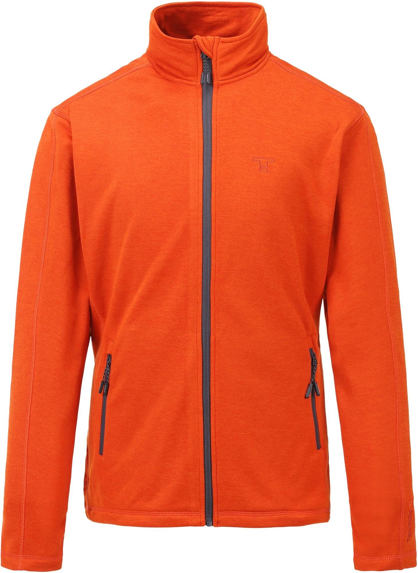 Bluza męska Tenson Lino Fleece, pomarańczowa Orange S