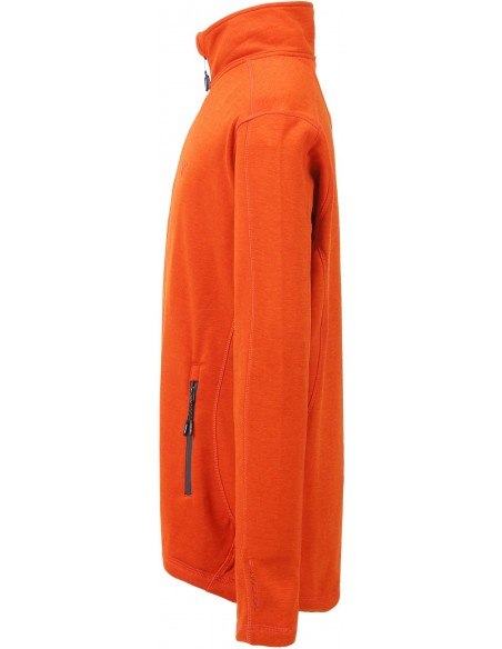 Tenson Lino Fleece Pomarańczowa Bluza Męska