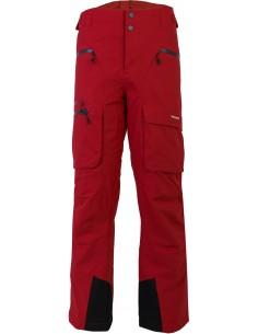 Spodnie narciarskie Tenson Buck Dermizax, czerwone