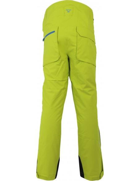 Tenson Buck Zielone Spodnie Narciarskie Dermizax