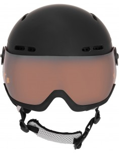Kask narciarski Tenson NANO VISOR, czarny
