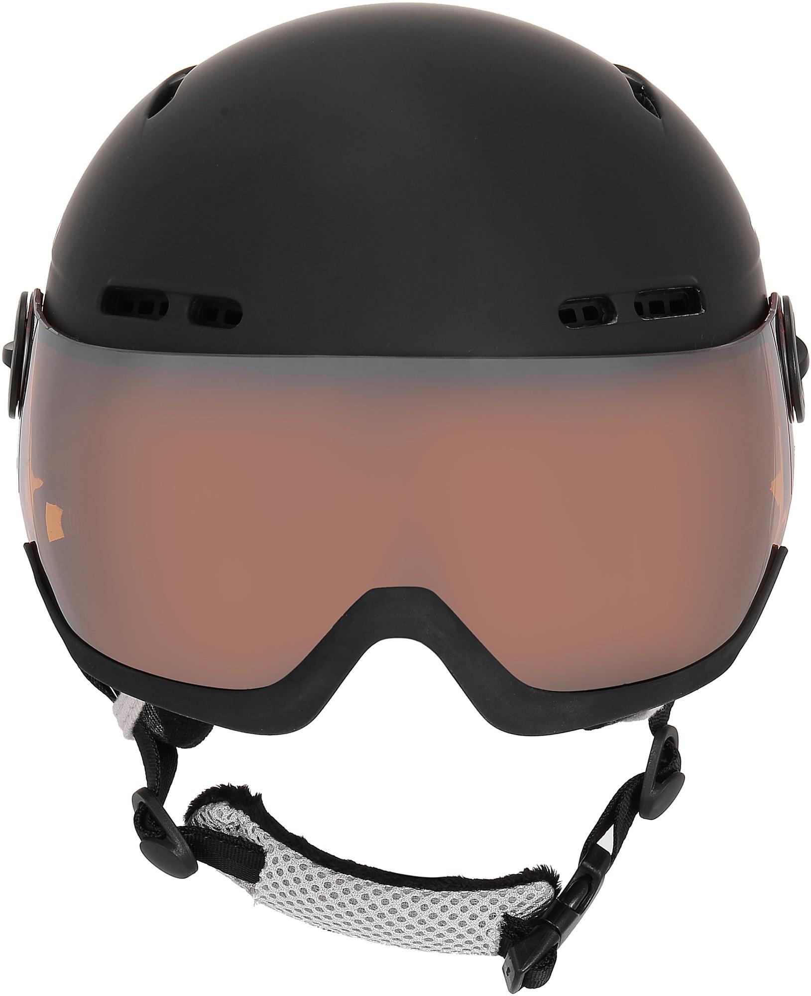 Kask narciarski Tenson NANO VISOR, czarny M