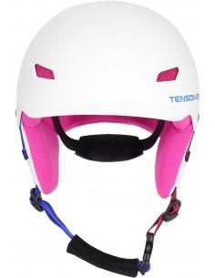 Kask narciarski dziecięcy Tenson PARK, biały