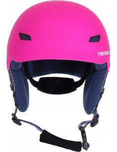 Kask narciarski dziecięcy Tenson PARK, różowy