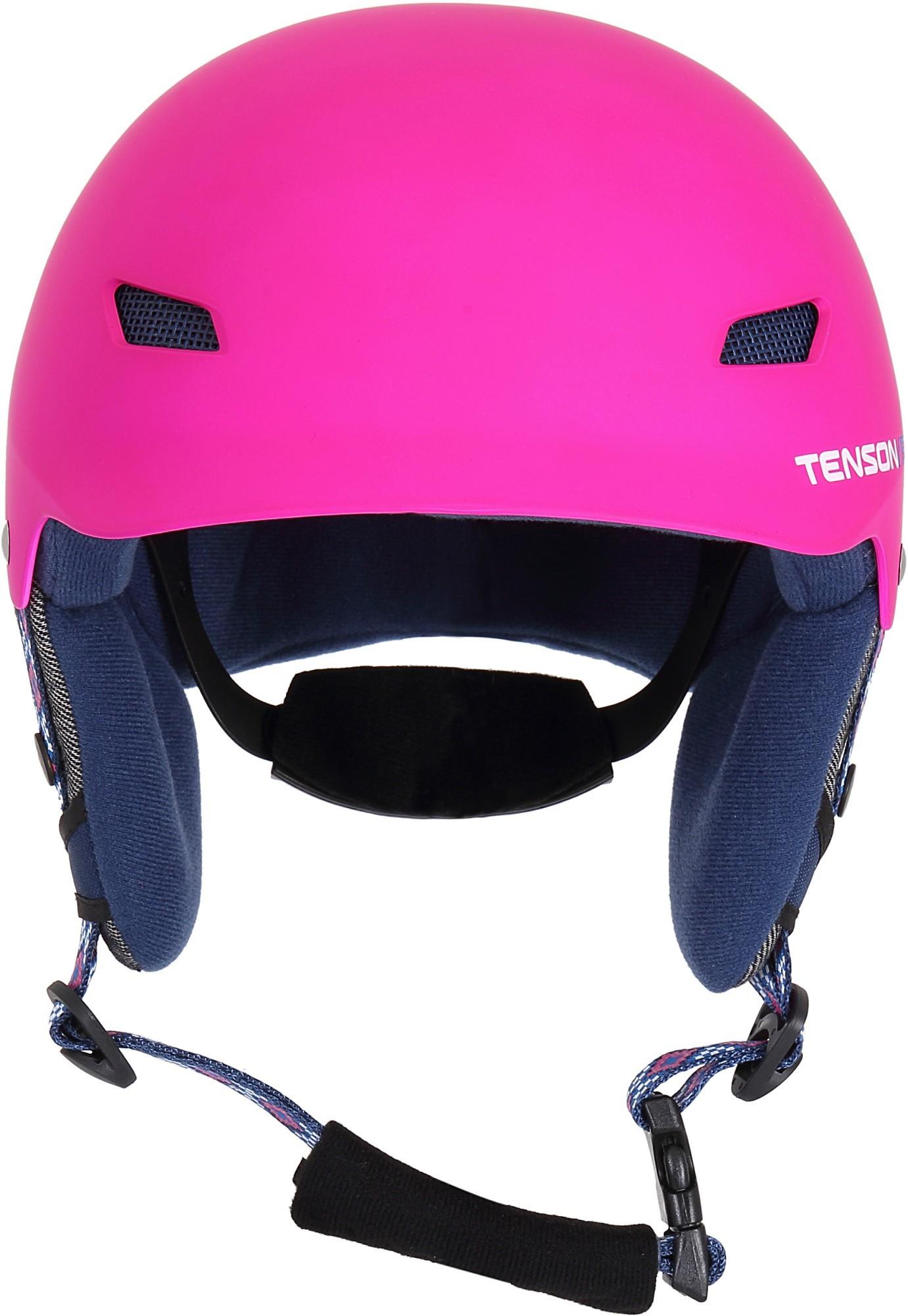 Kask narciarski dziecięcy Tenson PARK, różowy one size