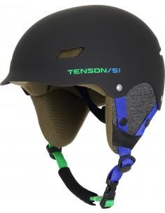 Kask narciarski dziecięcy Tenson PARK, czarny